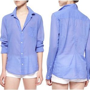 Frank and Eileen Barry Cotton Blouse